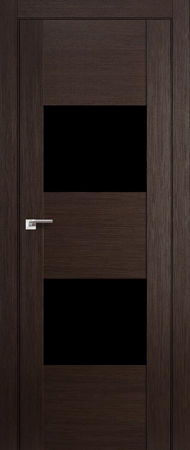 Дверь Венге мелинга №21 Х чёрный лак 2000*700 купить в интернет-магазине Чайна-строй