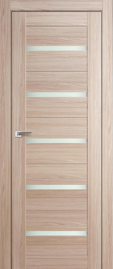 Дверь Капучино мелинга   №7 Х матовое 2000*800 купить в интернет-магазине Чайна-строй