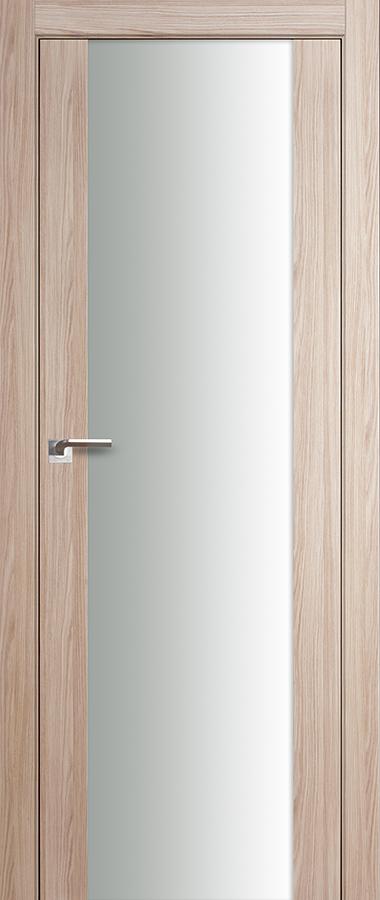 Дверь Капучино мелинга   №8 Х триплекс белый 2000*700 купить в интернет-магазине Чайна-строй
