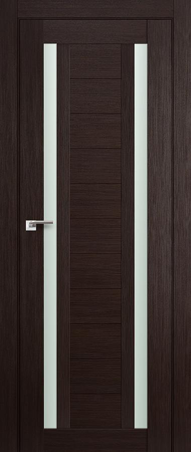 Дверь Венге мелинга №15 Х матовое 2000*700 купить в интернет-магазине Чайна-строй