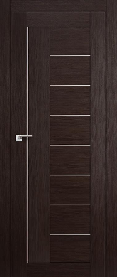 Дверь Венге мелинга №17 Х матовое 2000*600 купить в интернет-магазине Чайна-строй