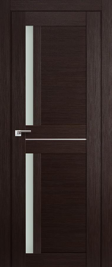 Дверь Венге мелинга №19 Х матовое 2000*800 купить в интернет-магазине Чайна-строй