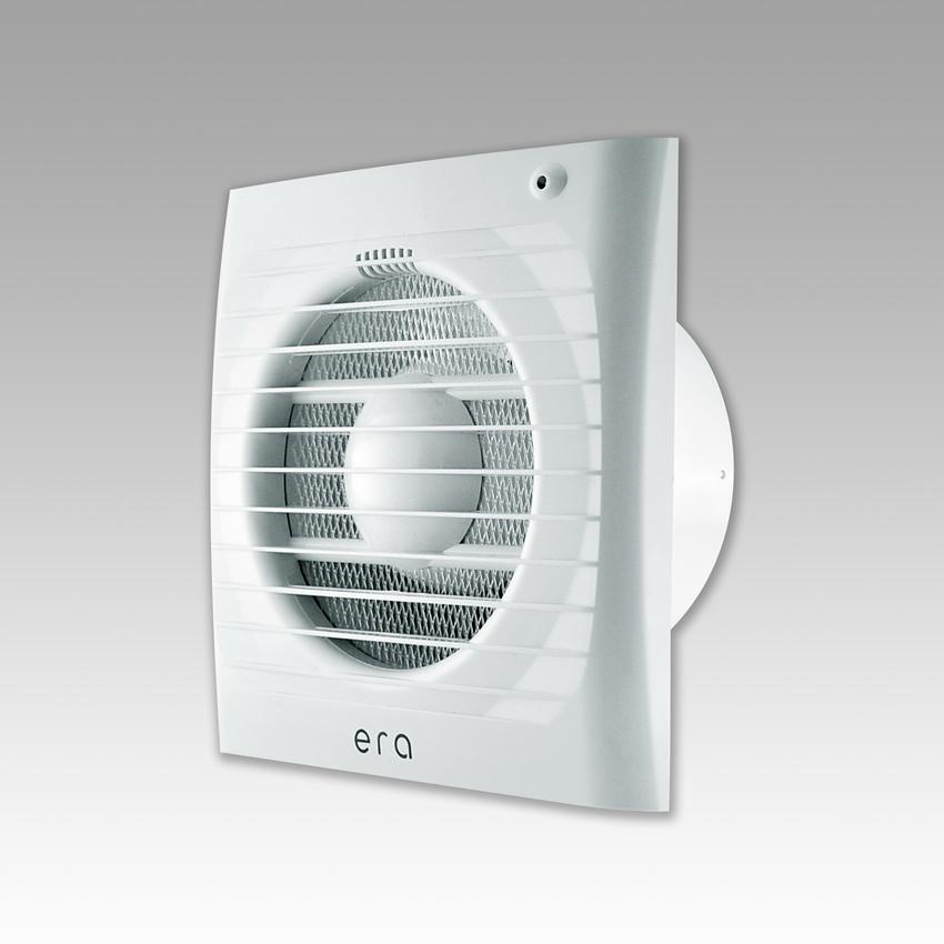 Вентилятор осевой вытяжной D 125 ERA 5S ET с антимоскитной сеткой, электронным таймером  купить в интернет-магазине Чайна-строй