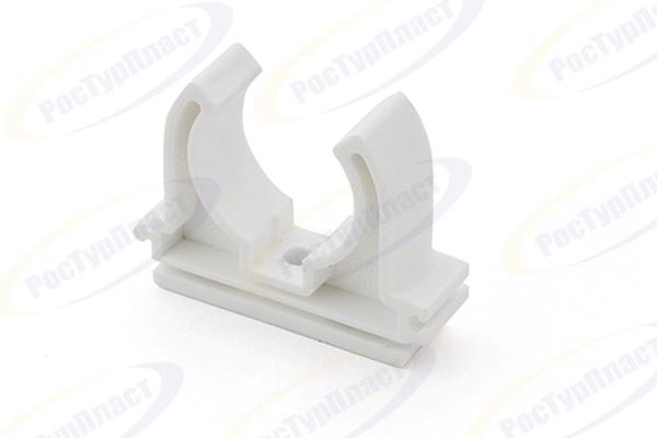 Опора для труб d 20, белый РТП (10723) купить в интернет-магазине Чайна-строй