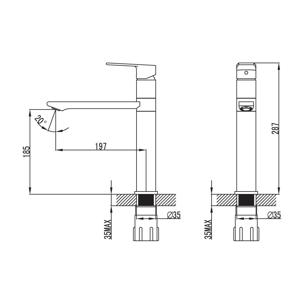 Смеситель для кухни IDDIS Edifice EDISB00i05 купить в интернет-магазине Чайна-строй