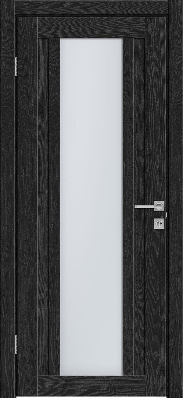 Дверное полотно 514 Антрацит со стеклом SATINATO -80*200 см купить в интернет-магазине Чайна-строй
