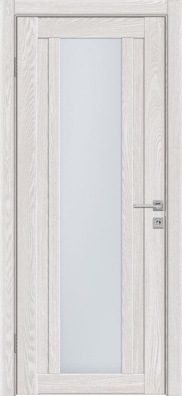 Дверное полотно 514 Латте со стеклом SATINATO -0,6 купить в интернет-магазине Чайна-строй