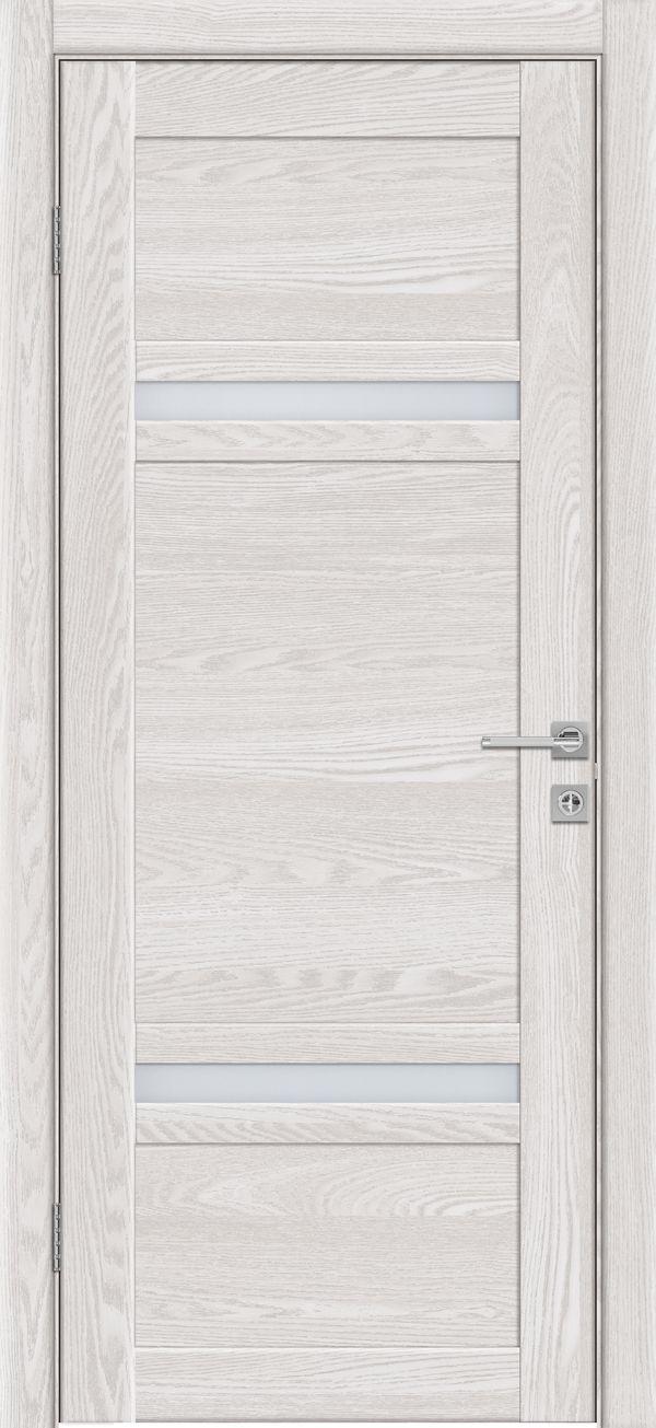 Дверное полотно 525 Латте со стеклом SATINATO -0,6 купить в интернет-магазине Чайна-строй