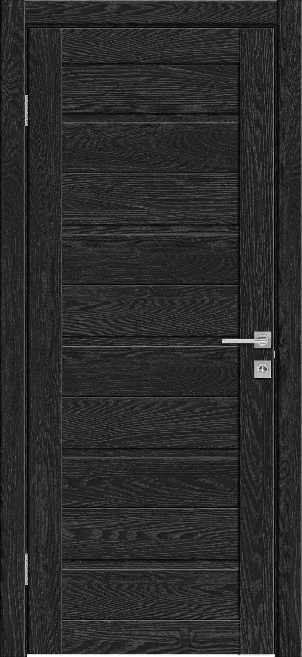 Дверное полотно 501 Антрацит  -60*200 см купить в интернет-магазине Чайна-строй