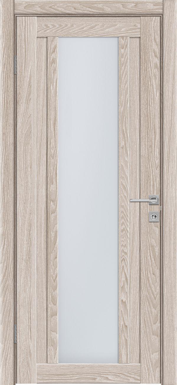 Дверное полотно 514 Капучино со стеклом SATINATO -0,7 купить в интернет-магазине Чайна-строй