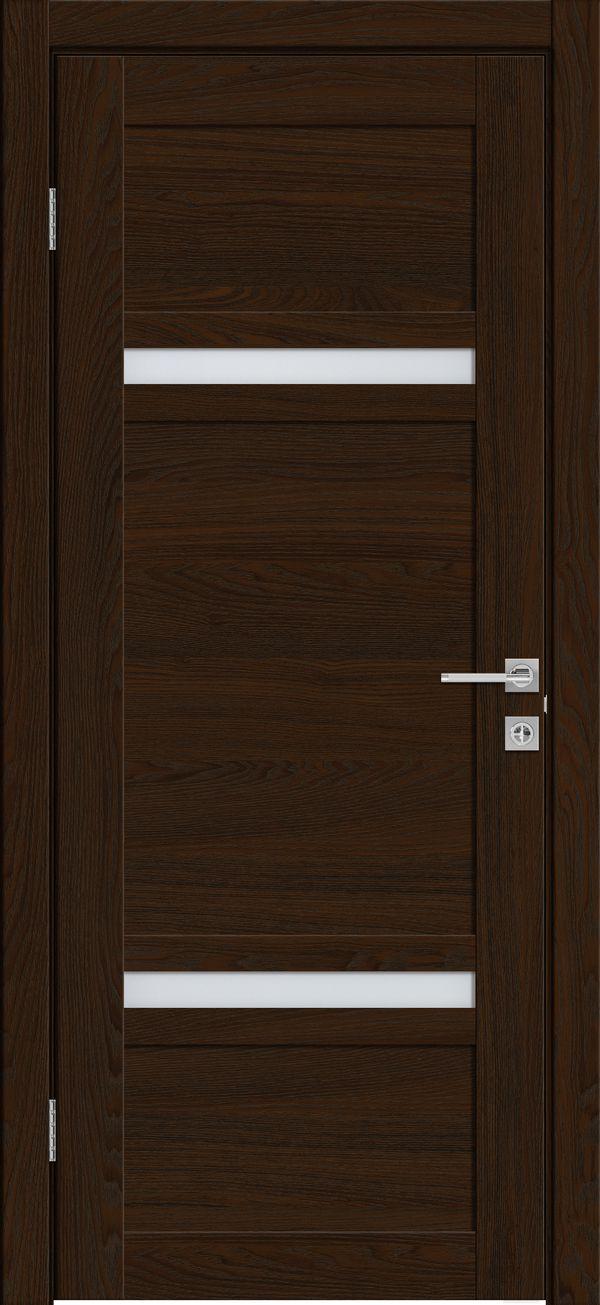 Дверное полотно 525 Бренди со стеклом SATINATO -0,8 ЗСЗ купить в интернет-магазине Чайна-строй