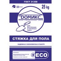 Стяжка для пола Домикс 25кг купить в интернет-магазине Чайна-строй
