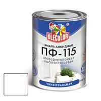 Эмаль ПФ-115 белый 0,5кг OLECOLOR купить в интернет-магазине Чайна-строй