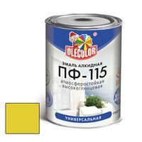 Эмаль ПФ-115 желтая 0,5кг купить в интернет-магазине Чайна-строй