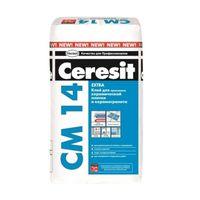 Ceresit CМ 14 Extra. Клей для керамической плитки и керамогранита 25кг купить в интернет-магазине Чайна-строй