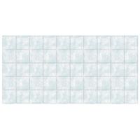 Декоративная панель ПВХ каф. плитка 485*960 (Голуб.мрамор  68/1) купить в интернет-магазине Чайна-строй