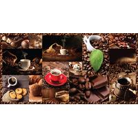 """Панель декоративная (под мозаику) ПВХ 485*960, """"Кофе"""" купить в интернет-магазине Чайна-строй"""