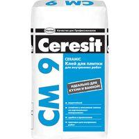 Клей для плитки Ceresit CM 9 25кг купить в интернет-магазине Чайна-строй