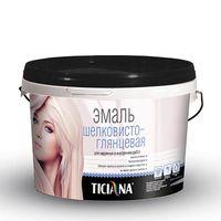 Эмаль акриловая шелковисто-глянцевая 0,9л TICIANA купить в интернет-магазине Чайна-строй