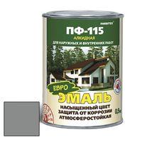 Эмаль алкидная ПФ-115 светло-серый 1,9кг FARBITEX купить в интернет-магазине Чайна-строй