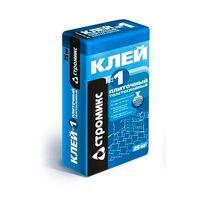 Клей плиточный СТРОМИКС №1 25кг купить в интернет-магазине Чайна-строй