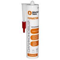 Герметик силиконовый Master Teks HomeMaster универсальный 260 мл прозрачный купить в интернет-магазине Чайна-строй