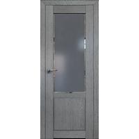 Дверь Грувд №2.17 ХN Square графит 2000*600 купить в интернет-магазине Чайна-строй
