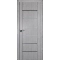 Дверь Монблан № 2.07 ХN молдинг алюминий 2000*800 купить в интернет-магазине Чайна-строй