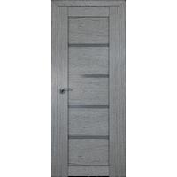 Дверь Грувд № 2.09 ХN стекло графит 2000*600 купить в интернет-магазине Чайна-строй