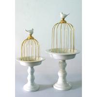 Клетка с керамической птичкой M139X01-1 купить в интернет-магазине Чайна-строй
