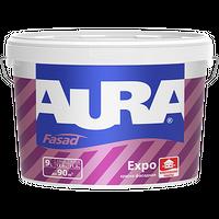Краска фасадная AURA EXPO матовая белая 2,7 л купить в интернет-магазине Чайна-строй