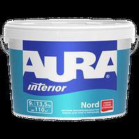 Краска интерьерная AURA NORD матовая белая 2,7 л купить в интернет-магазине Чайна-строй