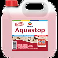 Укрепляющий грунт-концентрат Eskaro AquastopProf влагозащитный 3 л купить в интернет-магазине Чайна-строй