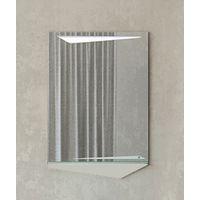 Зеркало с полкой Velvex Crystal Cub 60 купить в интернет-магазине Чайна-строй