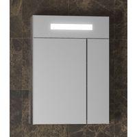 Зеркальный шкаф Smile Стайл 50 с подсветкой 600*658*136 мм, орегон купить в интернет-магазине Чайна-строй