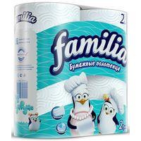 """Бумажные полотенца """"Famila"""" белые 2 слоя, 2 рулона купить в интернет-магазине Чайна-строй"""