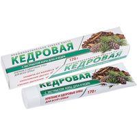 Зубная паста КЕДРОВАЯ 170 гр купить в интернет-магазине Чайна-строй