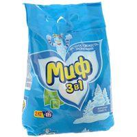 """Стиральный порошок МИФ 3 в 1 """"Морозная свежесть"""" 2 кг купить в интернет-магазине Чайна-строй"""