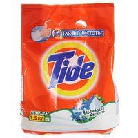 """Стиральный порошок TIDE """"Альпийская свежесть"""" автомат 1.5 кг купить в интернет-магазине Чайна-строй"""