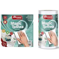 Тряпка KINGFISHER Magic анти-ворс, 70% вискоза+30%полиэстер, 25*22 см, 120 листов купить в интернет-магазине Чайна-строй