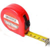Рулетка Universe, пластиковый корпус, автоматич. сматывание, 16 мм*3 м купить в интернет-магазине Чайна-строй