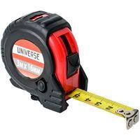 Рулетка Universe, обрезиненный корпус, автоматич. сматывание, 16 мм*3 м купить в интернет-магазине Чайна-строй