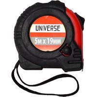 Рулетка Universe, обрезиненный корпус, автоматич. сматывание, 19 мм*5 м купить в интернет-магазине Чайна-строй