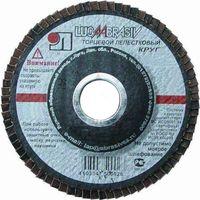 Круг лепестковый торцевой Луга №12 (125*22, Р120) купить в интернет-магазине Чайна-строй