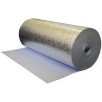 Фольгопласт НПЭ с металлизированной пленкой  3мм*25м купить в интернет-магазине Чайна-строй