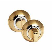 Завертка сантехническая Palidore OL PB на круглом основании, золото купить в интернет-магазине Чайна-строй