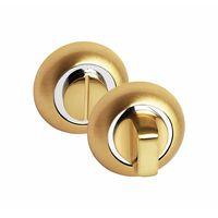 Завертка сантехническая Palidore OL SB на круглом основании, матовое золото купить в интернет-магазине Чайна-строй