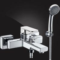 Смеситель для ванны Elghansa Mondshein 2320235 с душевым комплектом купить в интернет-магазине Чайна-строй