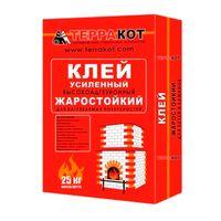 """Клей """"Терракот"""" Жаростойкий 25кг купить в интернет-магазине Чайна-строй"""