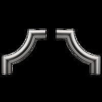 1.52.301 Угловой элемент 210*210 мм купить в интернет-магазине Чайна-строй